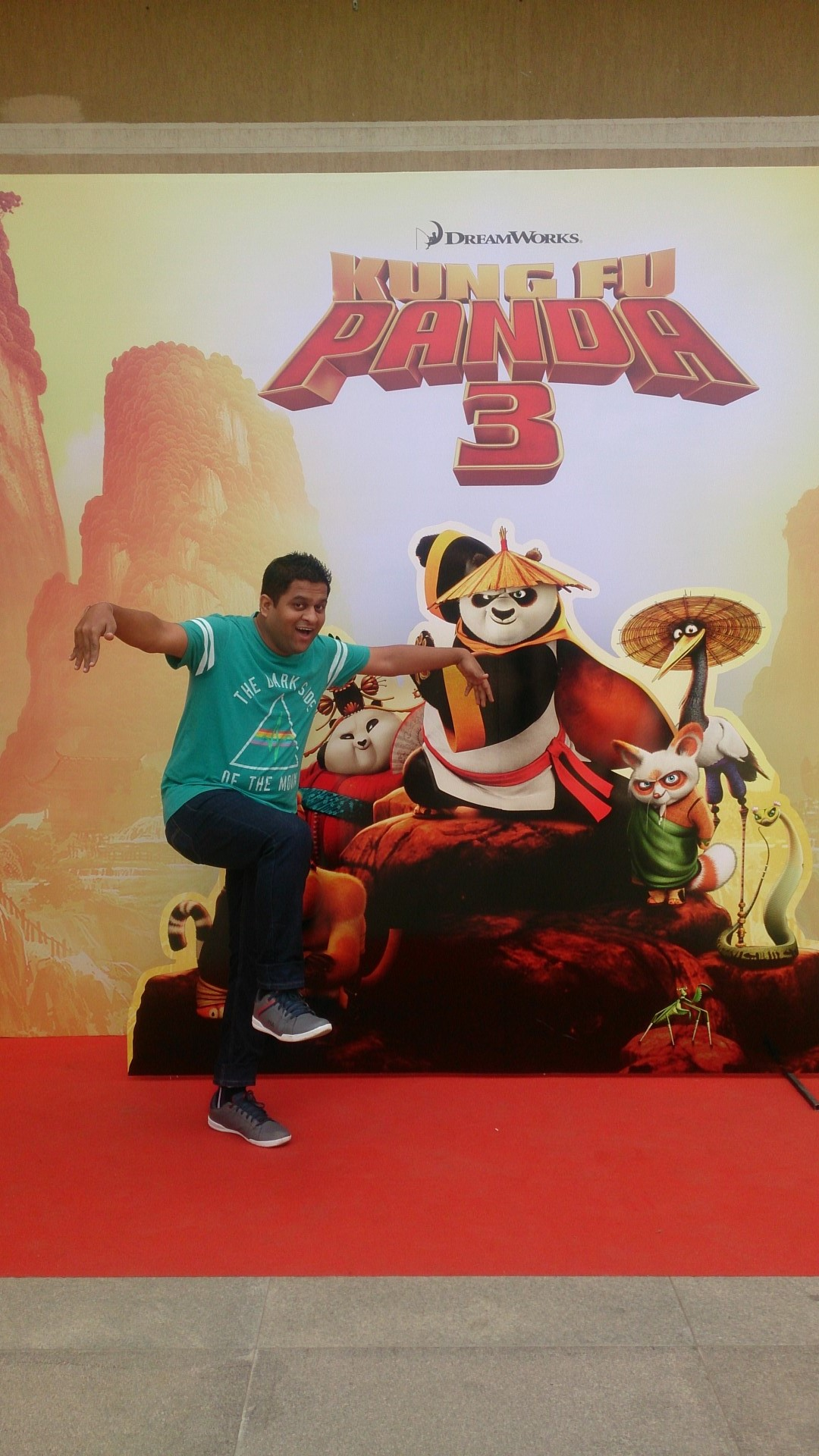 """The Panda"" at Kung Fu Panda 3 Premiere Show"